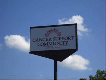 Image of the Cancer Support Ohio's building sign